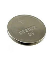 CR2032, 20.0 Millimeter (mm) Diameter and 3 Volt (V) Non-Rechargeable Lithium Battery